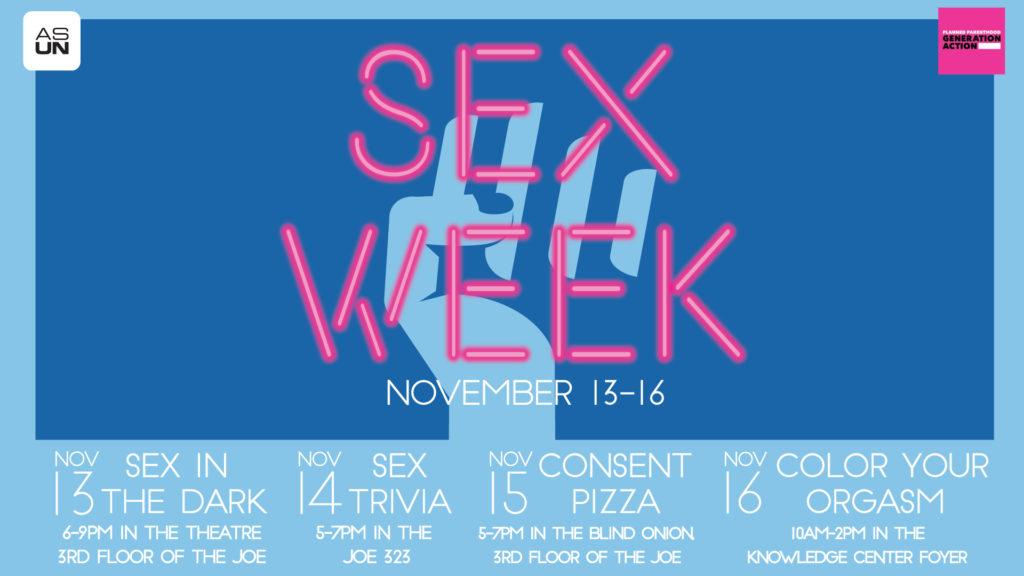 Sex Week Banner