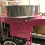 Pink Cotton Candy Machine