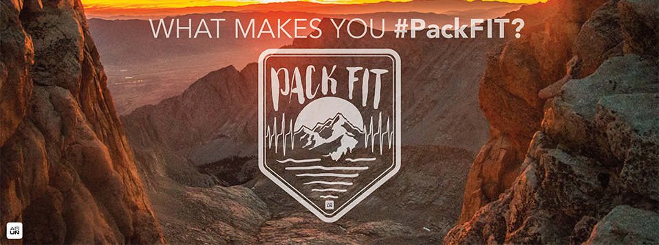 PackFIT Banner: What Makes You #PackFIT?